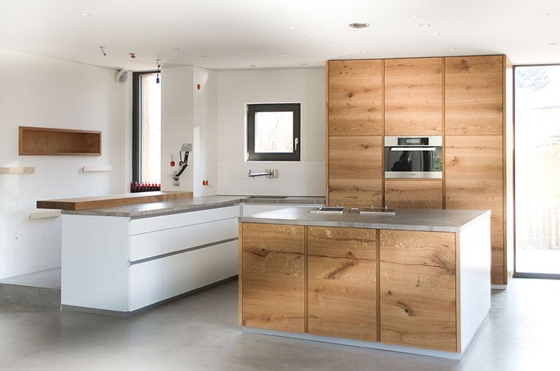 Eiche Beton Küche