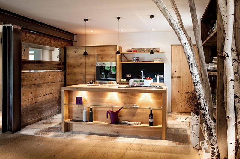 Küche in Wildeiche